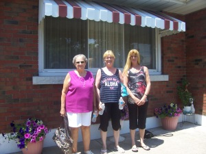 Aunt Cecile, Bonnie and Cindy